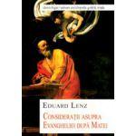 Consideratii asupra Evangheliei dupa Matei
