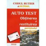 Auto test 2020. Obtinerea si restituirea permisului de conducere. 13 din 15