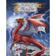 Dragoni. Carte cu puzzle
