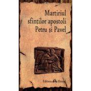 Martiriul sfintilor apostoli Petru si Pavel