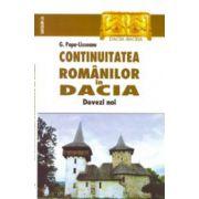 Continuitatea romanilor in Dacia. Dovezi noi