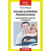 Evaluare si interventie psihoeducationala. Terapii educationale, recuperatorii si compensatorii