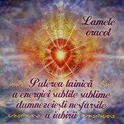 Puterea tainica a energiei subtile sublime dumnezeiesti nesfarsite a iubirii (carte + lamele oracol)