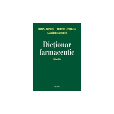 Dictionar farmaceutic
