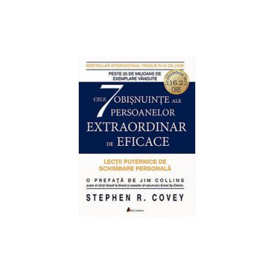 Cele 7 obisnuinte ale persoanelor extraordinar de eficace (CD)
