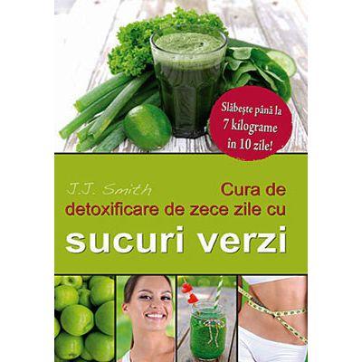 Cura de detoxificare de zece zile cu sucuri verzi