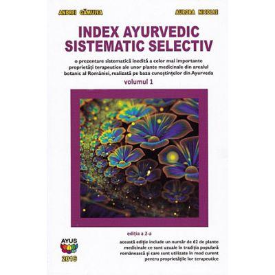 Index ayurvedic sistematic selectiv - vol. 1