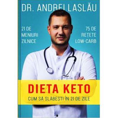 Dieta Keto. Cum sa slabesti in 21 de zile - dr. Andrei Laslau