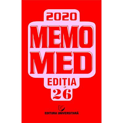 Memomed 2020 + Ghid Farmacoterapic Alopat si Homeopat